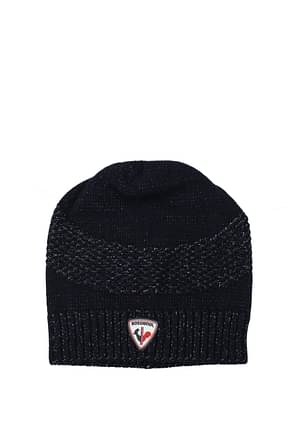 Rossignol Hats maxence beanie Men Wool Blue