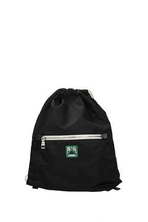 Prada Backpack and bumbags Men Fabric  Black