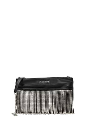 Crossbody Bag Miu Miu frange Woman