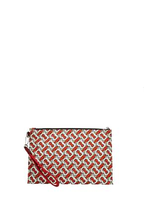 Burberry Clutches Women Fabric  Multicolor