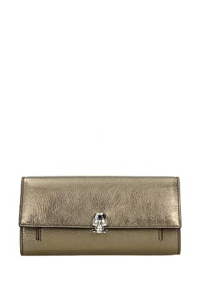 Wallets Alexander McQueen skull Woman