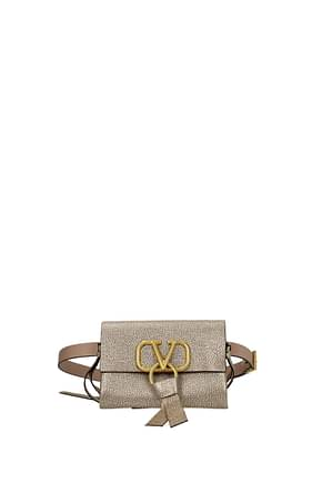 Valentino Garavani Backpacks and bumbags vring Women Leather Gold