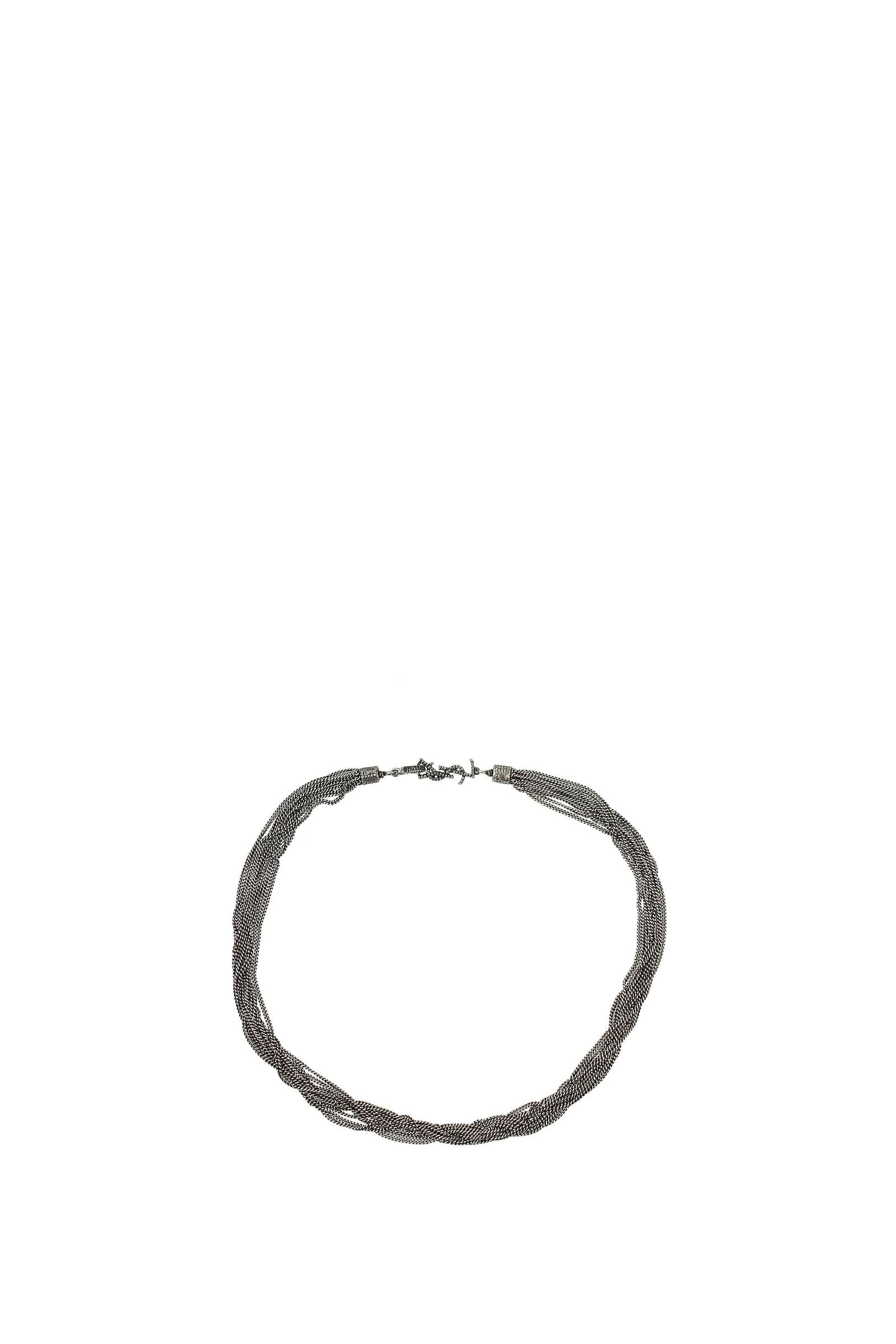 Collane-Saint-Laurent-Donna-Metallo-506028Y1614 miniatura 2