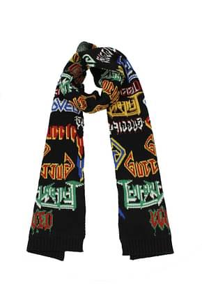 Gucci Scarves Men Wool Black