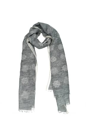 Barba Foulard Men Cotton Gray