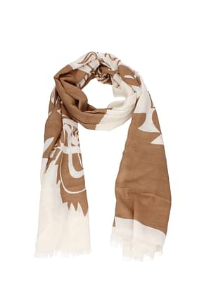 Kenzo Scarves Women Modal Brown