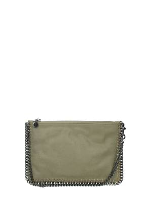 Stella McCartney Handbags Women Eco Suede Beige Cookie