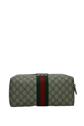 Gucci Beauty cases ophidia Men Fabric  Beige