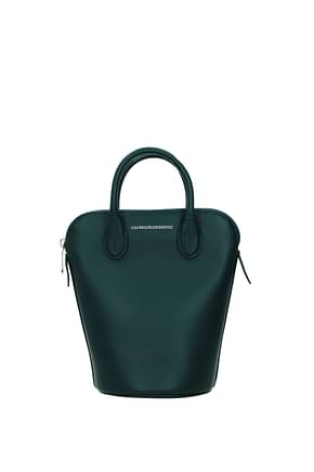 Calvin Klein  Handbags Women Leather Green