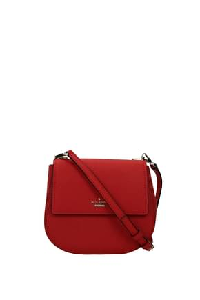 Kate Spade Crossbody Bag CAMERON STREET Women Leather Red