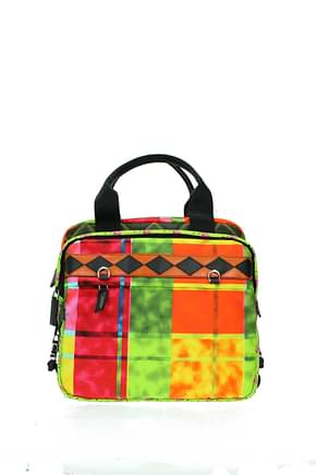 Prada Travel Bags Men Fabric  Multicolor