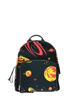 Miu Miu Backpacks and bumbags Women Fabric  Black