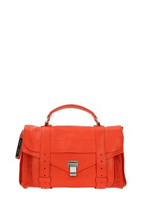 Proenza Schouler Handbags Women Leather Orange