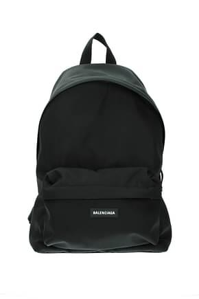 Balenciaga Backpack and bumbags Men Fabric  Black