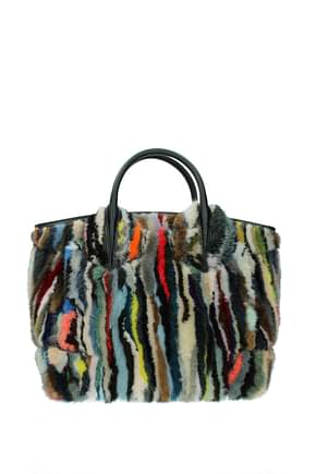 Louboutin Borse a Mano eloise Donna Visone Multicolor