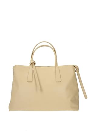 Zanellato Handbags duo metropolitan m Women Leather Beige Beige