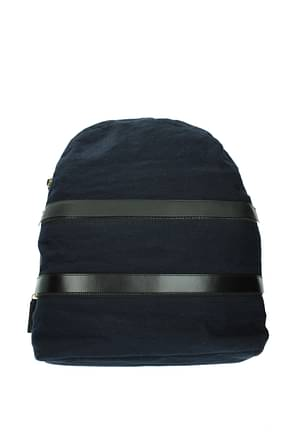 Marni Backpack and bumbags Men Fabric  Blue