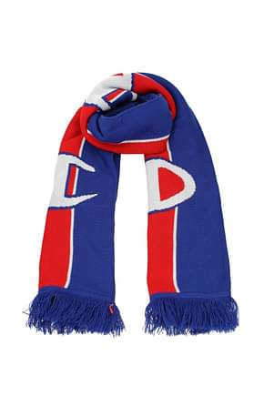 Champion Scarves Men Acrylic Blue Red