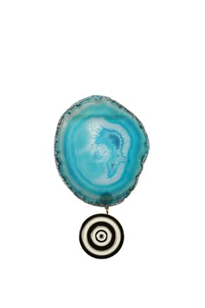 Givenchy Geschenk brooch agate Damen Messing Celeste