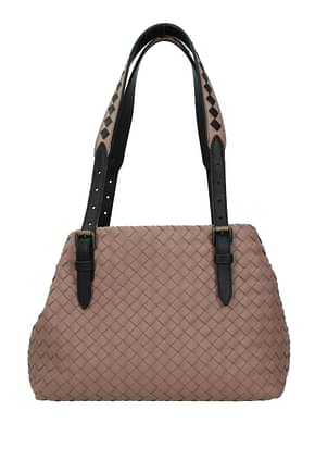 Bottega Veneta Shoulder bags Women Leather Pink