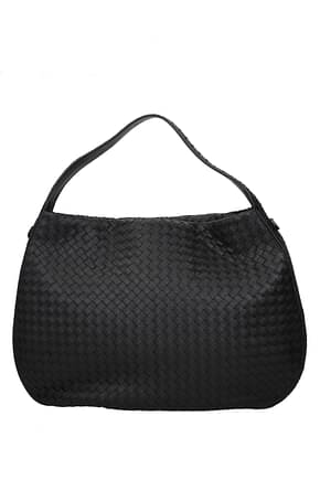 Bottega Veneta Handbags Women Leather Black