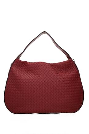Bottega Veneta Handbags Women Leather Red