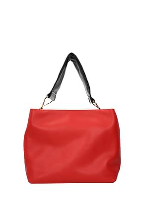 Marni Shoulder bags Women Leather Red
