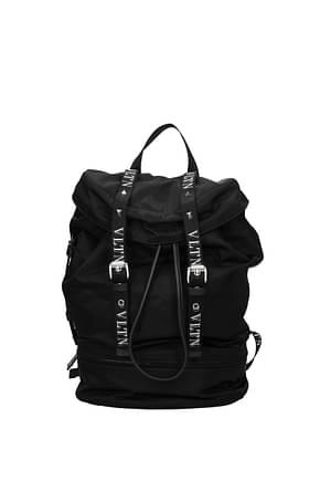 Valentino Garavani Backpack and bumbags vltn Men Fabric  Black