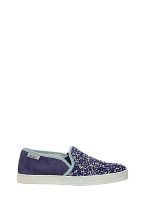 Hogan Slip-On rebel Damen Pailletten Violett