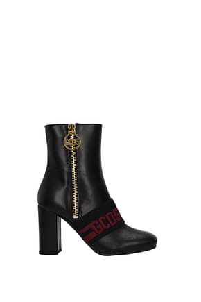 GCDS Ankle boots Women Leather Black