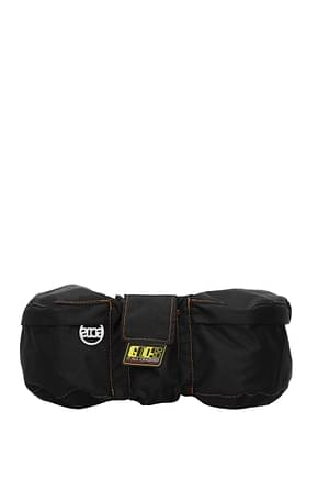 GCDS Backpack and bumbags Men Fabric  Black