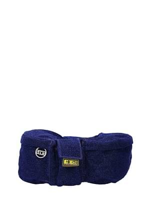 GCDS Sacs à dos et Bananes Homme Tissu Bleu