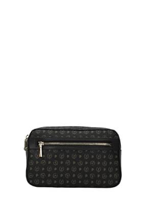 Pollini Backpacks and bumbags Women PVC Black Black