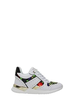 Guess Sneakers Women Polyurethane White Multicolor