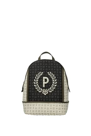 Pollini Backpacks and bumbags Women PVC Beige Antelope