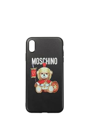 Moschino iPhone cover iphone xs max Women Acrylic Black
