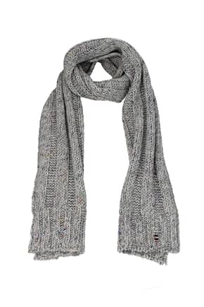 Colmar Scarves Women Acrylic Gray Light Grey