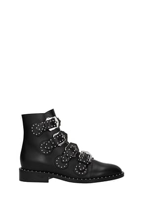 Givenchy Ankle boots elegant studs Women Leather Black