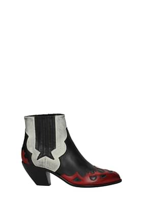 Golden Goose Ankle boots Women Leather Multicolor