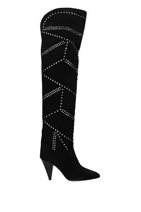 Isabel Marant Boots Women Suede Black