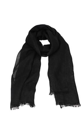 Brunello Cucinelli Scarves Women Polyester Black