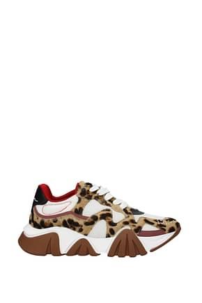 Versace Sneakers Herren Ponyfell Mehrfarben