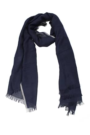 Brunello Cucinelli Foulard Men Cashmere Blue
