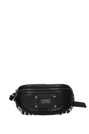 Givenchy Backpack and bumbags tag Men Leather Black