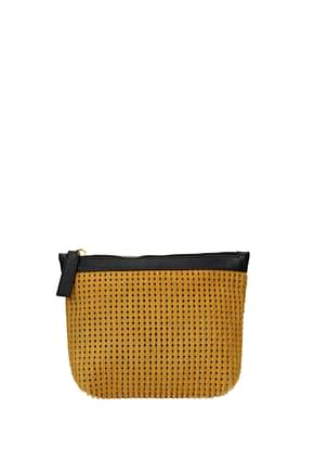 Marni Clutches Women Pony Skin Yellow Pollen