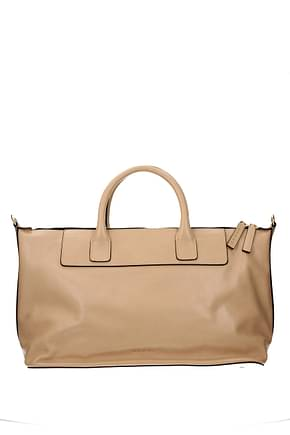 Marni Handbags Women Leather Beige