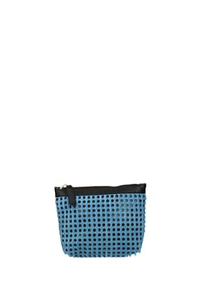 Marni Clutches Women Pony Skin Heavenly Sky