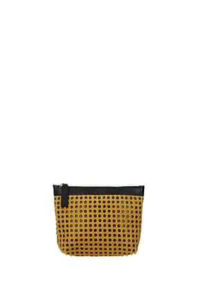 Marni Clutches Women Pony Skin Yellow Saffron