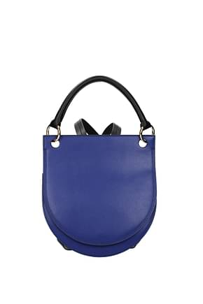 Marni Backpacks and bumbags Women Leather Violet Juniper