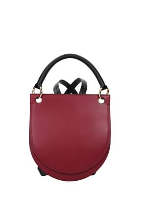 Marni Backpacks and bumbags Women Leather Red Grapes